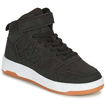 Shoes Boy High top trainers Kappa SEATTLE MID EV Black
