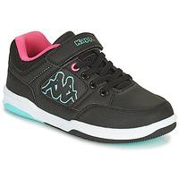 Shoes Girl Low top trainers Kappa KASH LOW EV Black / Blue / Pink