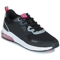 Shoes Girl Low top trainers Kappa SPLINTER EV KID Black / Pink