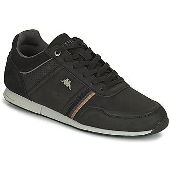 Shoes Men Low top trainers Kappa TYLER Black