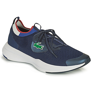 Shoes Men Low top trainers Lacoste RUN SPIN KNIT 0121 1 SMA Marine