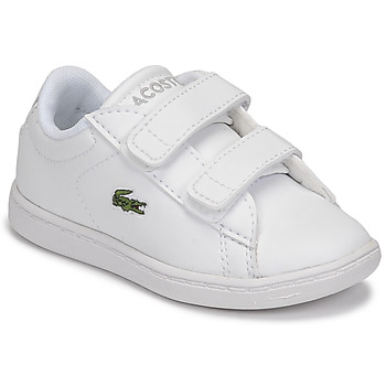 Shoes Children Low top trainers Lacoste CARNABY EVO BL 21 1 SUI White