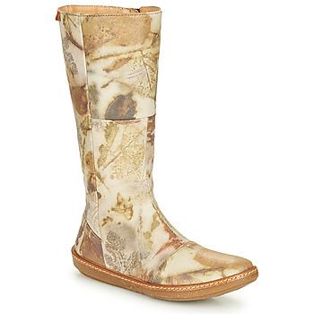 Shoes Women Boots El Naturalista CORAL Grey