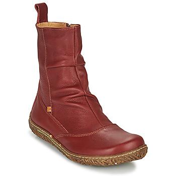 Shoes Women Mid boots El Naturalista NIDO ELLA Bordeaux