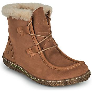Shoes Women Mid boots El Naturalista NIDO ELLA Brown