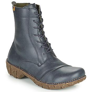 Shoes Women Mid boots El Naturalista YGGDRASIL Marine