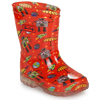 Shoes Boy Wellington boots Be Only CYBORG Red