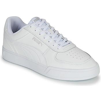 Shoes Men Low top trainers Puma CAVEN White
