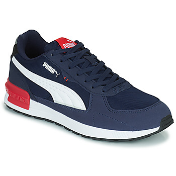 Shoes Men Low top trainers Puma GRAVITON Blue / White / Red