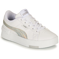 Shoes Girl Low top trainers Puma JADA RAINBOW PS White / Multicolour