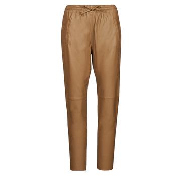material Women 5-pocket trousers Oakwood GIFT Camel