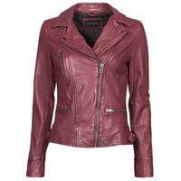 material Women Leather jackets / Imitation le Oakwood VIDEO Bordeaux