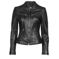 material Women Leather jackets / Imitation le Oakwood HILLS6 Black