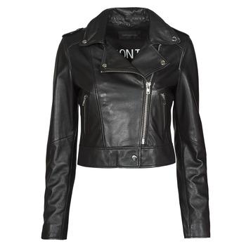 material Women Leather jackets / Imitation le Oakwood NIKKO Black