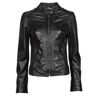 material Women Leather jackets / Imitation le Oakwood KARINE Black