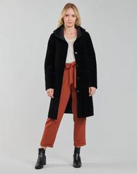 material Women coats Oakwood ANGELIQUE Black