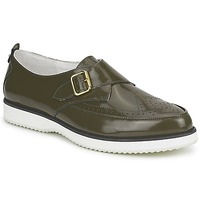 Shoes Women Loafers McQ Alexander McQueen 308658 Green