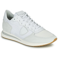 Shoes Men Low top trainers Philippe Model TRPX LOW BASIC White
