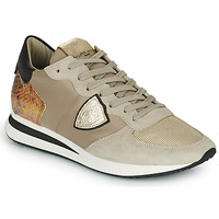 Shoes Women Low top trainers Philippe Model TRPX LOW WOMAN Taupe