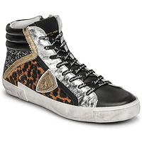 Shoes Women High top trainers Philippe Model PRSX HIGH WOMAN Multicolour