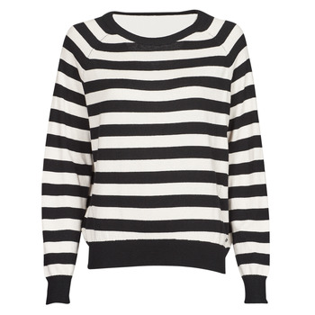 material Women jumpers Guess IRENE RN LS SWTR Black / White