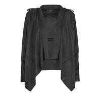 material Women Leather jackets / Imitation le Guess SOFIA JACKET Black