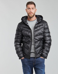 material Men Duffel coats Guess SUPER LIGHT PUFFA JKT Black