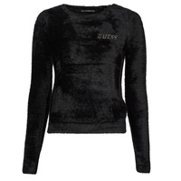 material Women jumpers Guess CANDACE RN LS SWTR Black