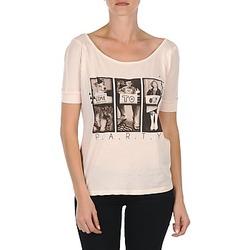 material Women short-sleeved t-shirts Bench CREEPTOWN Pink