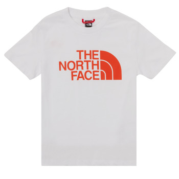 material Boy short-sleeved t-shirts The North Face EASY TEE SS White