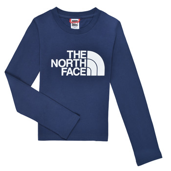 material Boy Long sleeved shirts The North Face EASY TEE LS Marine