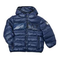 material Boy Duffel coats Emporio Armani EA7 TREDA Marine