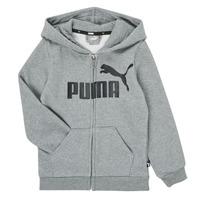 material Boy sweaters Puma ESSENTIAL BIG LOGO FZ HOODIE Grey