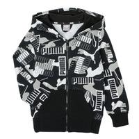 material Boy sweaters Puma ALPHA AOP FZ Black