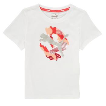 material Girl short-sleeved t-shirts Puma ALPHA TEE White