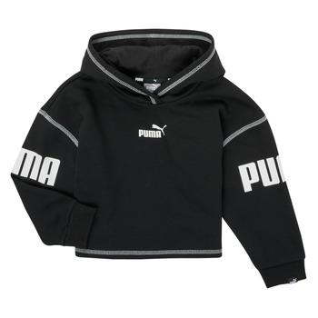 material Girl sweaters Puma PUMA POWER HOODIE Black