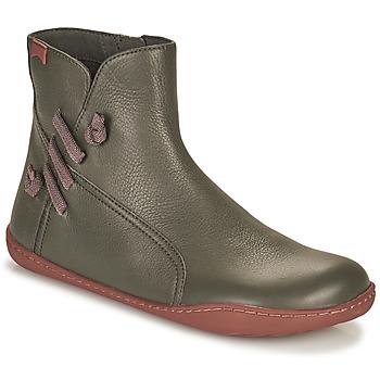 Shoes Women Mid boots Camper PEU CAMI Grey