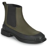 Shoes Women Mid boots Camper PIX Kaki / Black