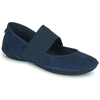 Shoes Women Ballerinas Camper RIGHT NINA Blue