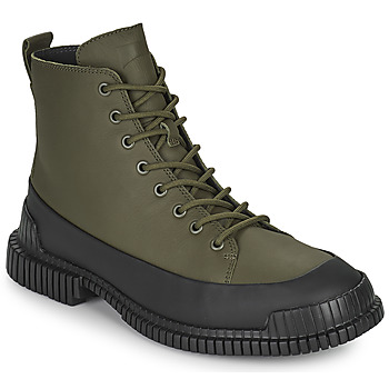 Shoes Men Mid boots Camper PIX Black / Kaki