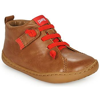 Shoes Children Derby shoes Camper PEU CAMI Brown