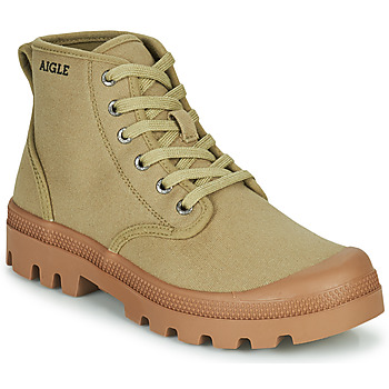 Shoes Women High top trainers Aigle TERRE MID Beige