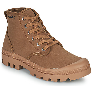 Shoes Men High top trainers Aigle TERRE MID Brown