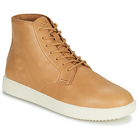 Shoes Men High top trainers Clae GIBSON Brown