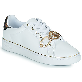 Shoes Women Low top trainers Guess BABE White