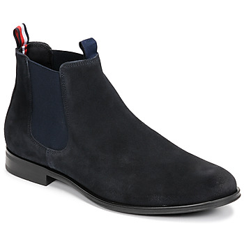 Shoes Men Mid boots Tommy Hilfiger CASUAL SUEDE CHELSEA Marine