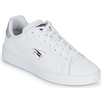 Shoes Women Low top trainers Tommy Jeans IRIDECENT DETAIL CUPSOLE White