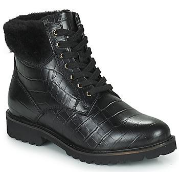Shoes Women Mid boots Ravel IRIS Black