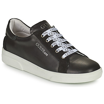 Shoes Boy Low top trainers Guess COLE Black