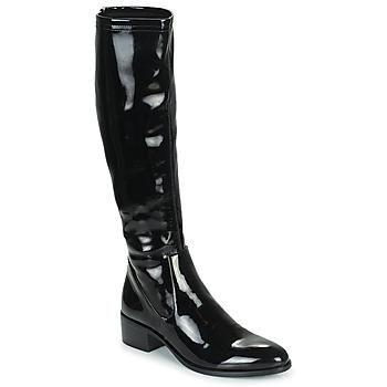 Shoes Women Boots Adige CELINE V1 VERNIS NOIR Black